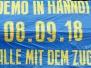 Eintracht - Hertha BSC (DFB-Pokal 1. Runde 18/19)