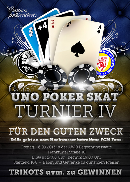 UNO, Poker, Skat Turnier IV